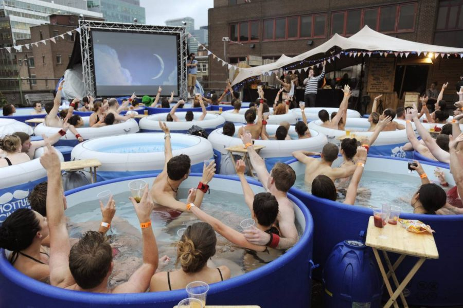 cinema jacuzzi londres
