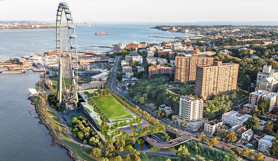Staten Island branchement