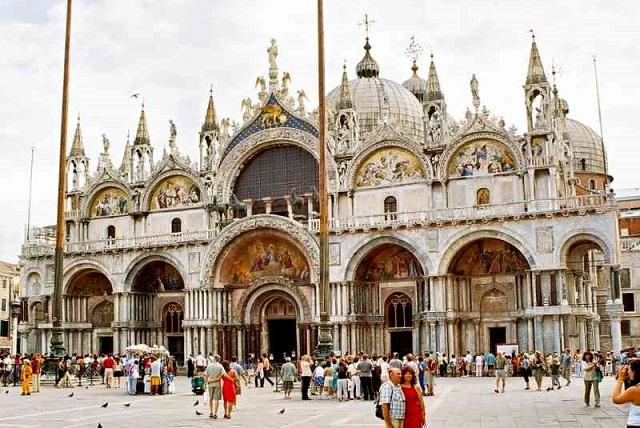 Basilique Saint Marc à Venise