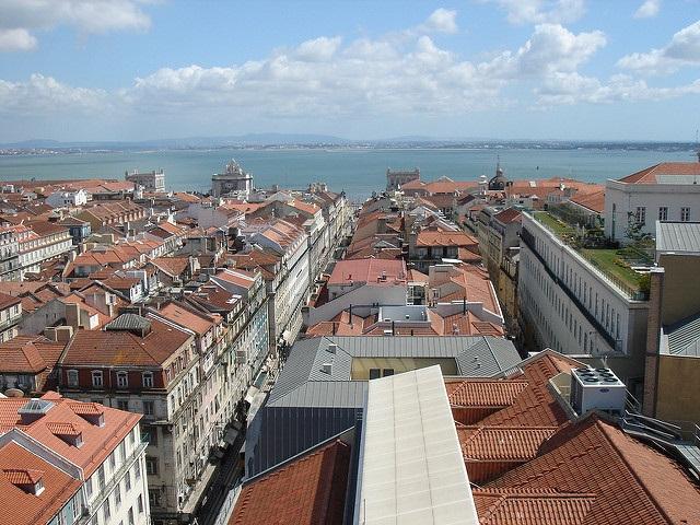 la Baixa Lisbonne