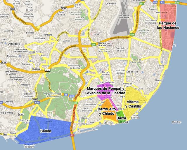 Visiter Lisbonne et les quartiers