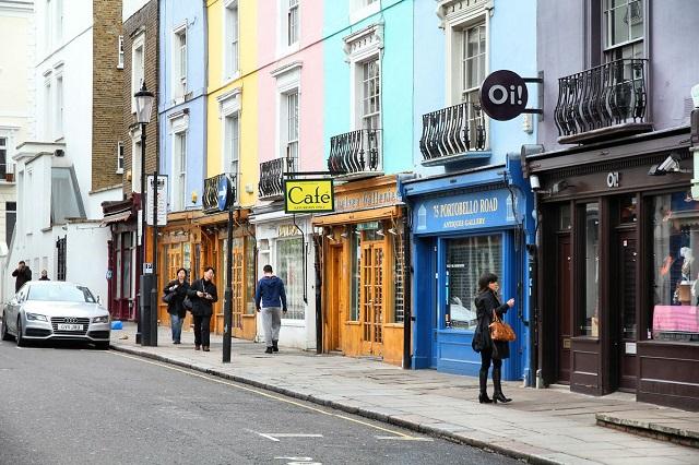 Notting Hill à Londres