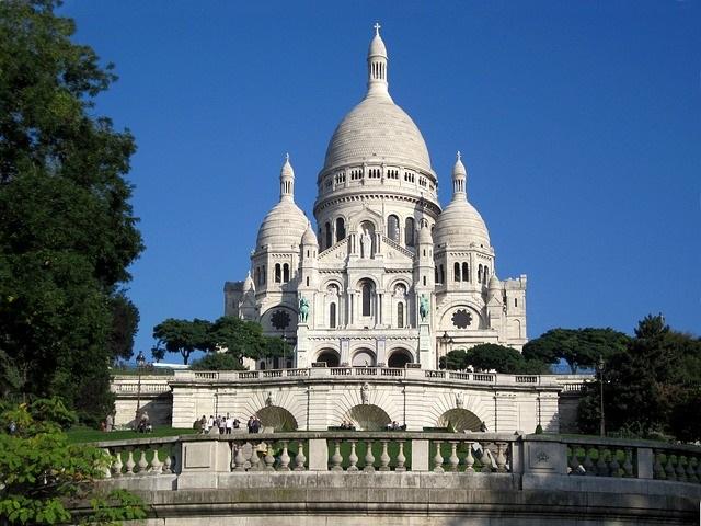 quartier de Montmartre à Paris