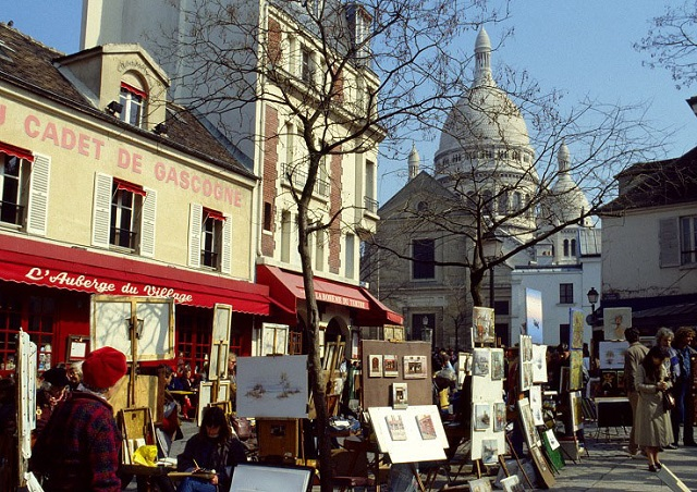 quartiers de Paris