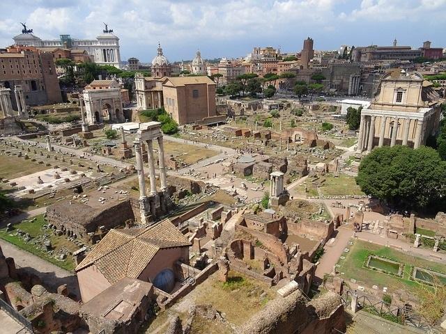 édifice de Rome