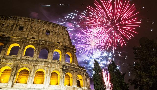 passer le nouvel an à Rome