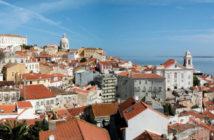 Panorama de l'Alfama à Lisbonne