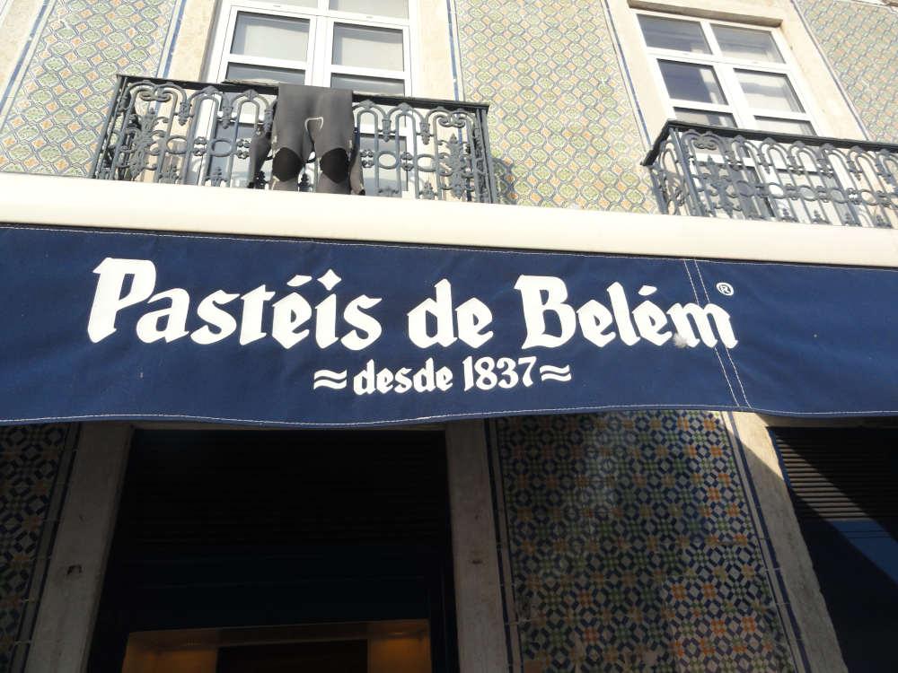 Pasteis de nata dans le quartier de Belem