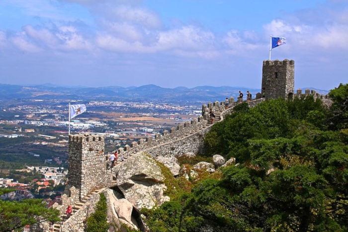 Château des Maures à Sintra, Lisbonne