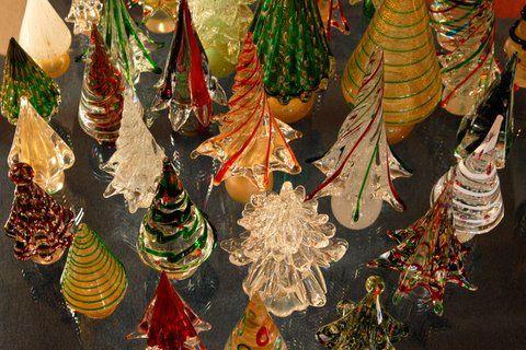 Les décoration de Noël uniques au monde le l'île de Murano
