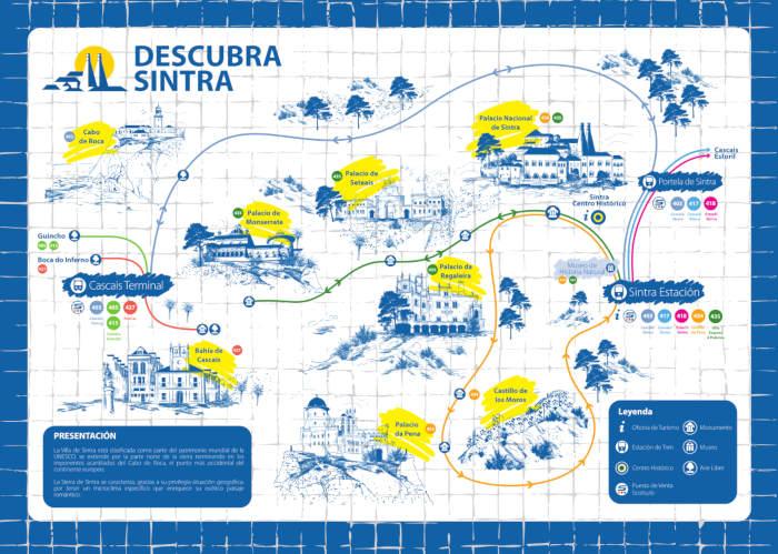 Itinéraires bus 434, 435 Sintra Lisbonne