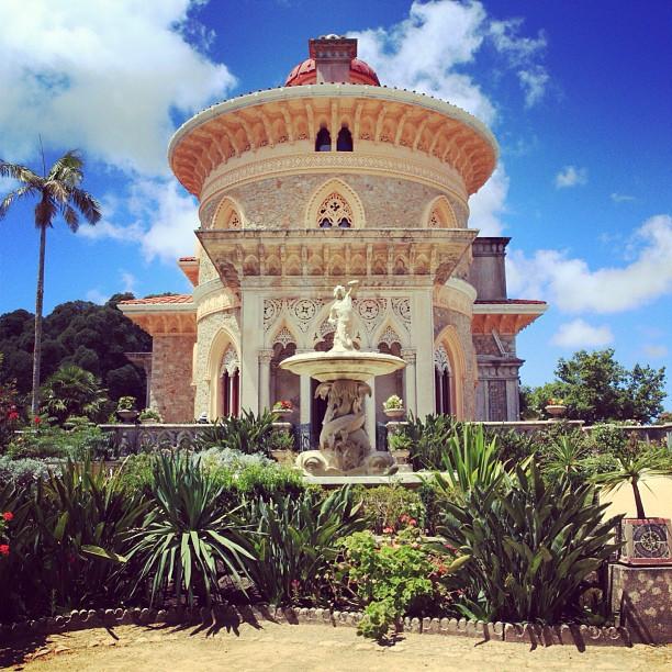 Palais monserrate à Sintra près de Lisbonne