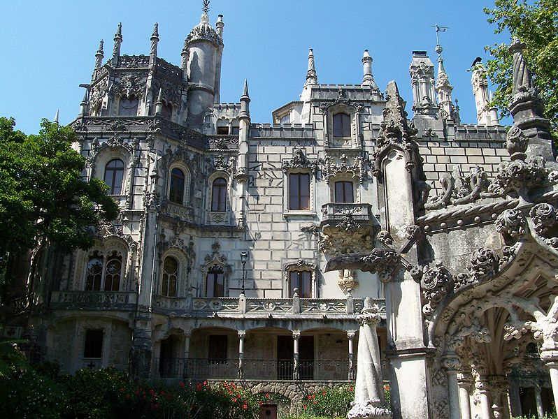 Facade du palais de Regaleira