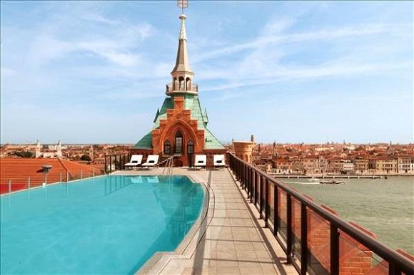 hôtel de luxe Hilton Molino Stucky Venice