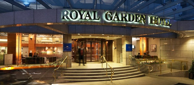 Royal Garden Hotel à Londres