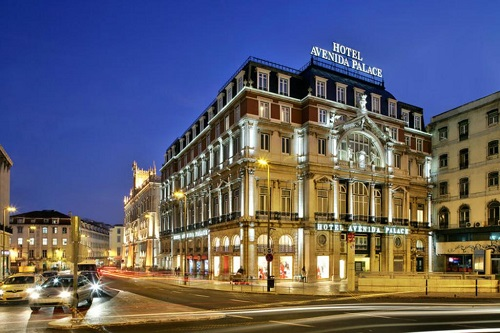 Hotel Avenida palace à Lisbonne