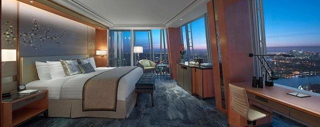hôtel de luxe Londres