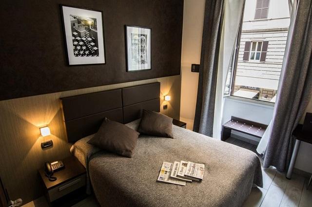 hôtel à petit prix : l'Hotel Charter à Rome