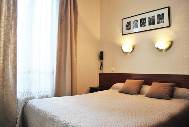 hôtel à prix abordable à Paris : l'Hôtel Avenir Jonquière