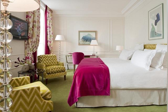 hôtel de luxe : le Burgandy Paris