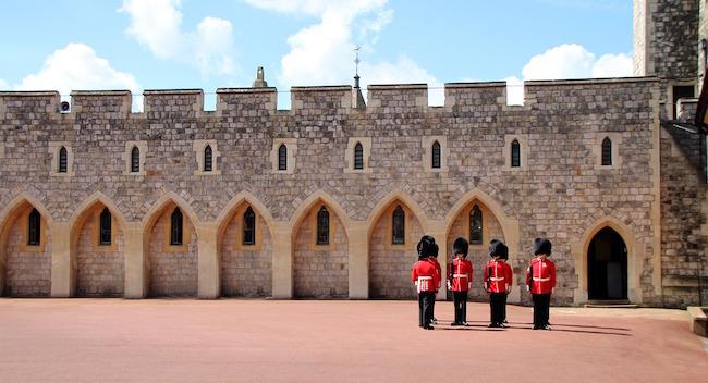 Les monuments historiques de Londres.