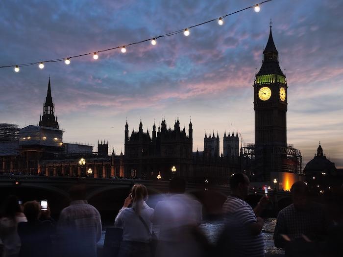 Visiter Londres en 4 jours le soir.