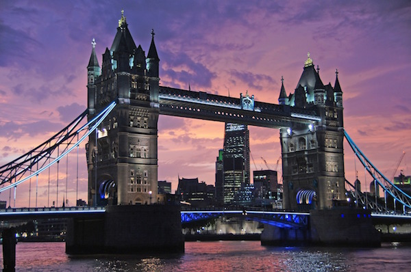 Tower bridge : visiter Londres en 3 jours.