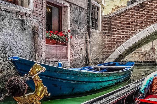 Où prendre une gondole à Venise, histoire.