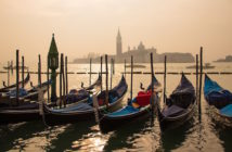Un parking à Venise.