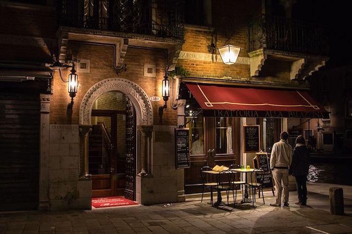 Que faire à Venise en 3 jours : trattoria.