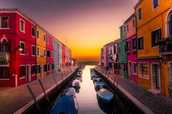 Visiter Venise en 2 jours : burano.